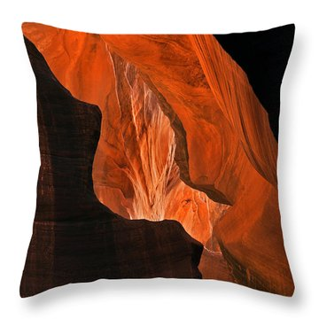 Tectonic Plates Throw Pillow by Mike  Dawson