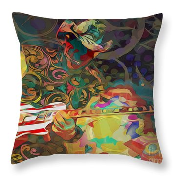 Ted Nugent Throw Pillow