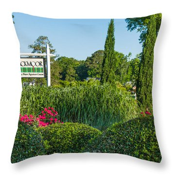 Tee Off Throw Pillow