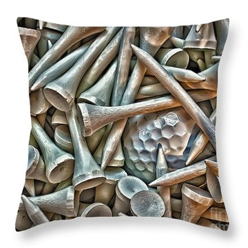 Teed Throw Pillow