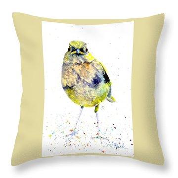 Teenage Robin Throw Pillow