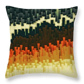 Teeth 030517 Throw Pillow