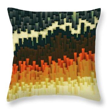 Teeth 030517 Throw Pillow by Matt Lindley