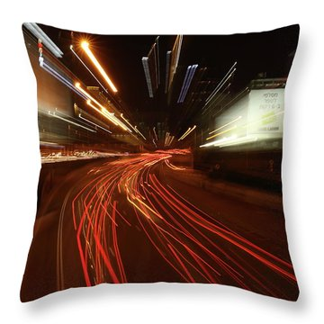 Tel Aviv Doom Throw Pillow