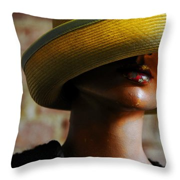 Throw Pillow featuring the photograph Tel Aviv by Skip Hunt