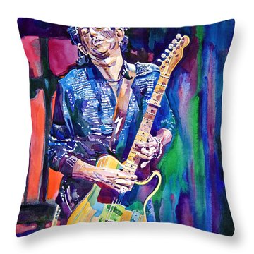 Rolling Stones Throw Pillows