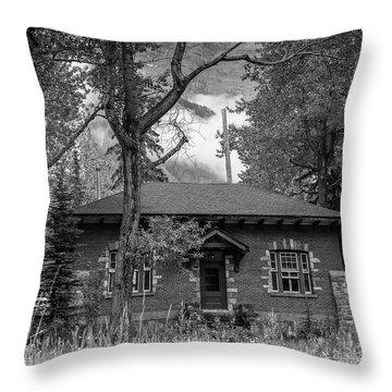Telegraph Station Throw Pillow