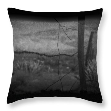 Throw Pillow featuring the photograph Tell Me by Mark Ross