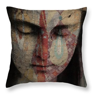 Tell Me There's A Heaven Throw Pillow
