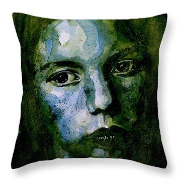 Abuse Throw Pillows