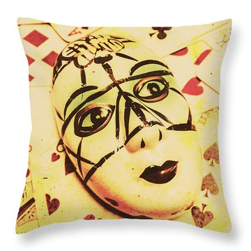 Telling Tales From Tomorrow Throw Pillow
