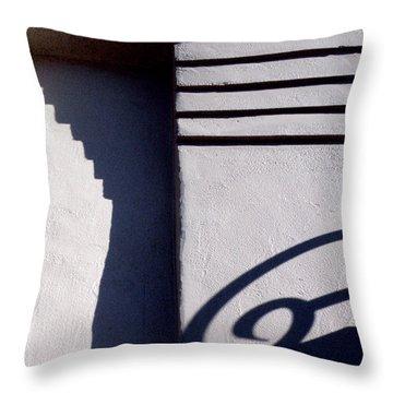 Telling Time Throw Pillow