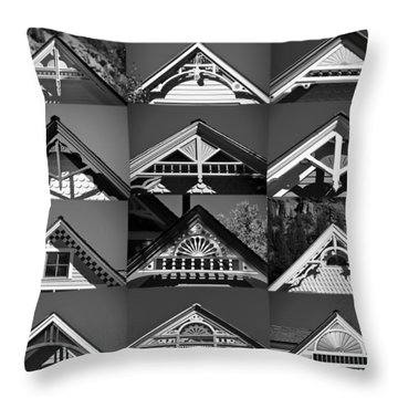 Throw Pillow featuring the photograph Telluride Classics by David Lee Thompson