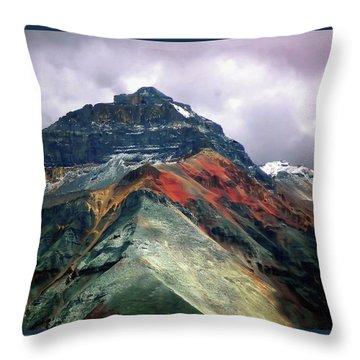Telluride Mountain Throw Pillow