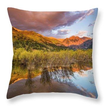 Telluride Valley Floor 2 Throw Pillow