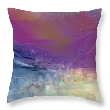Temperamental Twilight Throw Pillow