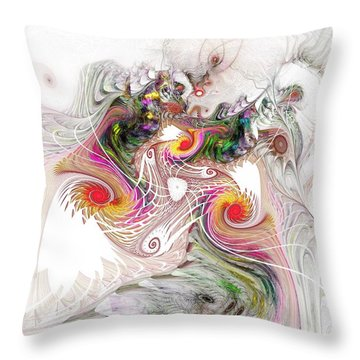 Tempest Throw Pillow by NirvanaBlues