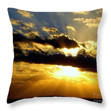 Tempestuous Throw Pillow