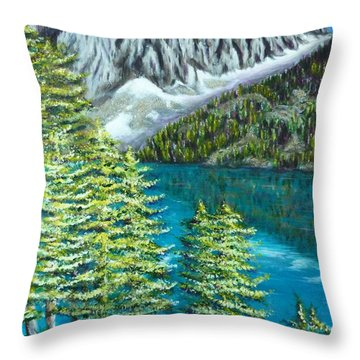 Temple Crag Throw Pillow