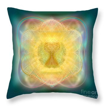 Temple Fire Chalice Throw Pillow