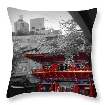 Temple Throw Pillows
