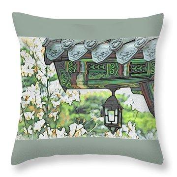 Temple Light Throw Pillow