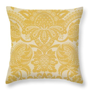 Temple Newsam Throw Pillow by Cole and Sons