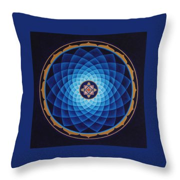 Temple Of Healing Throw Pillow