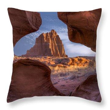 Capitol Reef Throw Pillows