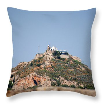 Temple Of Zeus Throw Pillow