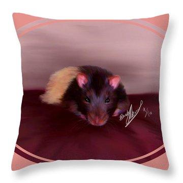 Templeton The Pet Fancy Rat Throw Pillow