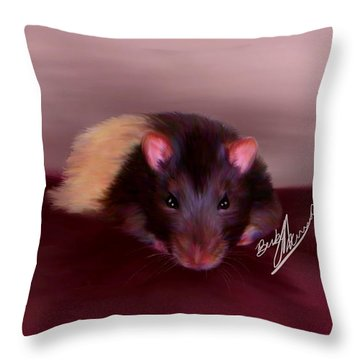 Templeton The Pet Fancy Rat Throw Pillow