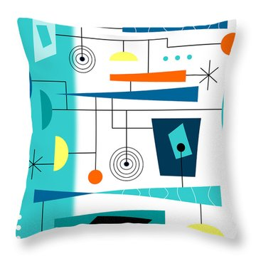 Tempo Throw Pillow by Tara Hutton