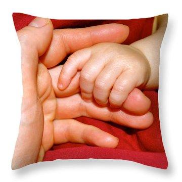 Temporary Throw Pillow