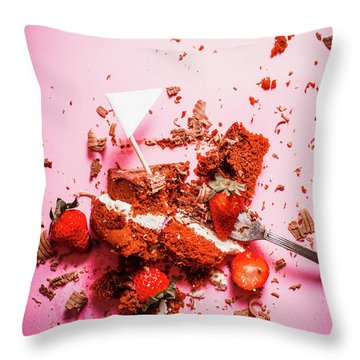 Temptation Surrender  Throw Pillow