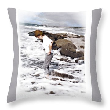 Tempting Throw Pillow