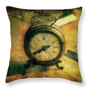 Tempus Fugit... Throw Pillow