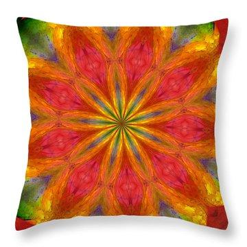 Ten Minute Art 090610-a Throw Pillow by David Lane