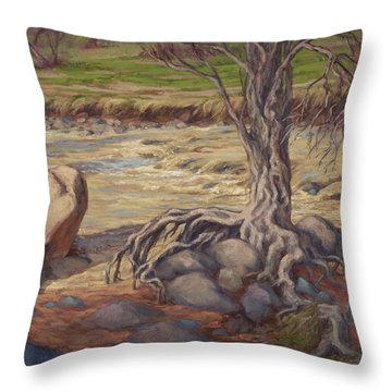 Tenacity Throw Pillow by Jane Thorpe