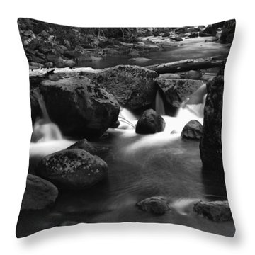 Tenaya Creek Throw Pillow