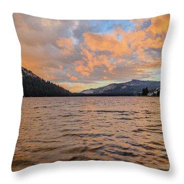Tenaya Lake Throw Pillow