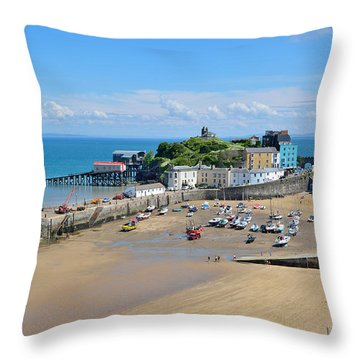 Tenby 1 Throw Pillow