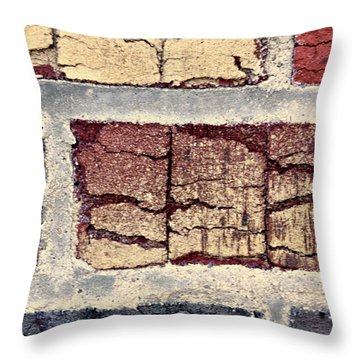 Tender Bricks Throw Pillow