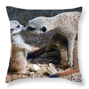 Tender Care Throw Pillow