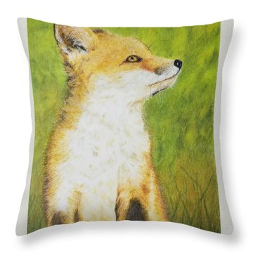 Tender Throw Pillow