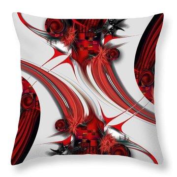 Tender Design - Composition Throw Pillow
