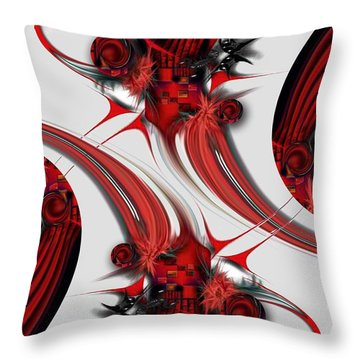 Tender Design - Composition Throw Pillow