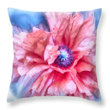Tenderness Throw Pillow by Angelina Vick