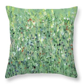 Tenderness Throw Pillow by Lynne Taetzsch