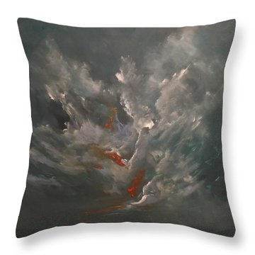 Tenebrious Throw Pillow